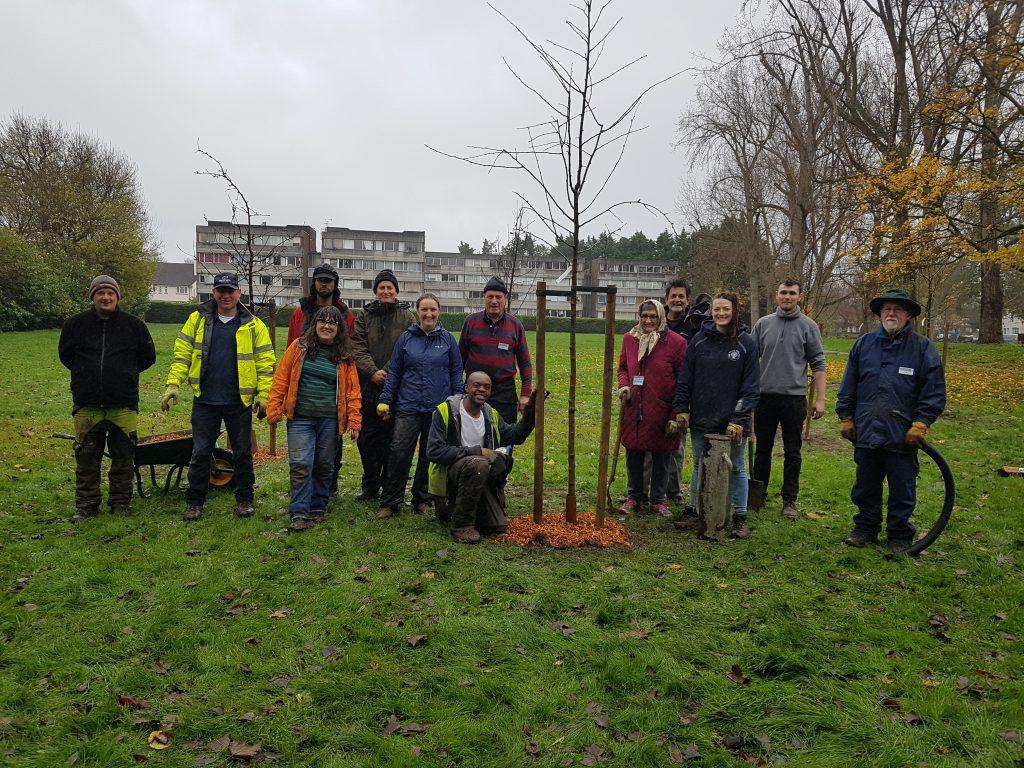 Volunteers at Guy Road Rec